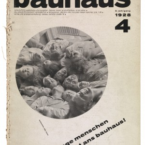 bauhaus magazine cover
