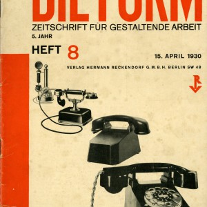 Die Form magazine cover
