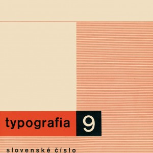 Typografia, Slovak issue, i. 39, no. 9, 1932