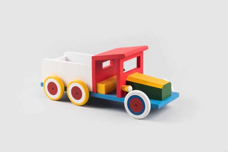 Wooden toy — lorry