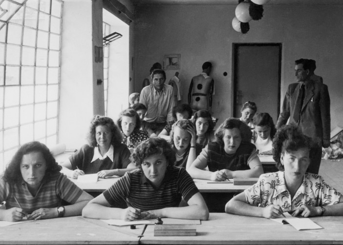 Pupils of the Textile Department