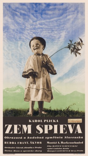 Poster to the film The Earth Sings
